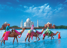 Goa With Rajasthan Taj Mahal Tour Package