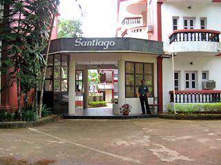 santiago resort 3 star hotel goa